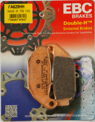 EBC Double-H Rear Brake Pads: Honda Grom MSX125