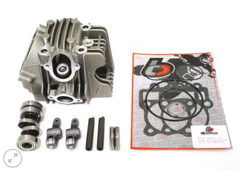 TB Parts - TBW9034A - 165CC BORE KIT, RACE HEAD V2 AND 28MM CARB KIT FOR DRZ110 KLX110