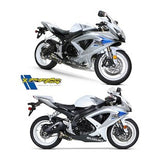 Two Brothers M2 Exhaust System Suzuki GSX-R600 2008–2010 - Tacticalmindz.com