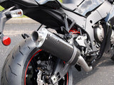 ZX-10R '11-'12 - Brock's Slip-On System GEN 4 Carbon Fiber 14""