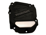 Woodcraft ZX10R 2011+ RHS Ignition Trigger Cover Assembly Black Anodized: Kawasaki