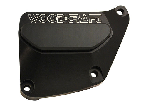 Woodcraft GSXR1000 2009+ RHS Clutch Cover Protector Assembly Black: Suzuki