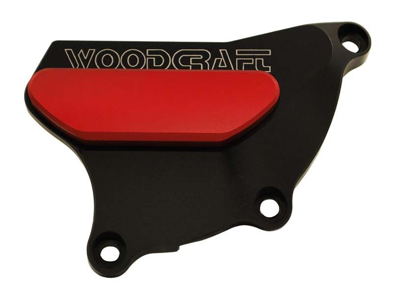 Woodcraft CBR1000RR RHS 2004-2007 Clutch Cover Protector Assembly Black: Honda