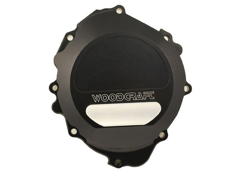 Woodcraft CBR600RR 2007+ LHS Stator Cover Black (use semi-dry liquid gasket): Honda