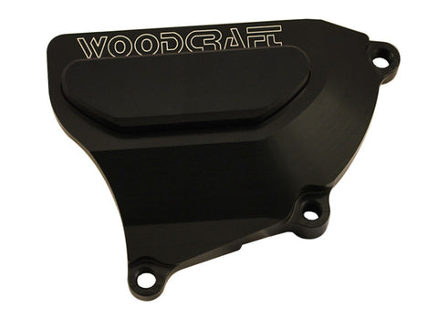 Woodcraft CBR1000RR 2008+ RHS Clutch Cover Protector Assembly Black: Honda