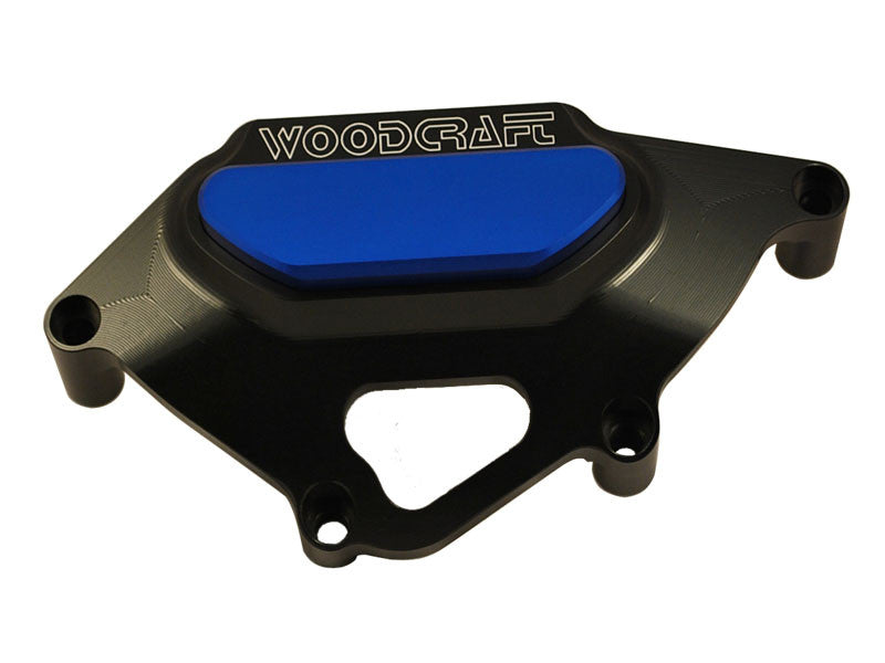 Woodcraft CBR1000RR 2008+ LHS Stator Cover Protector Black: Honda