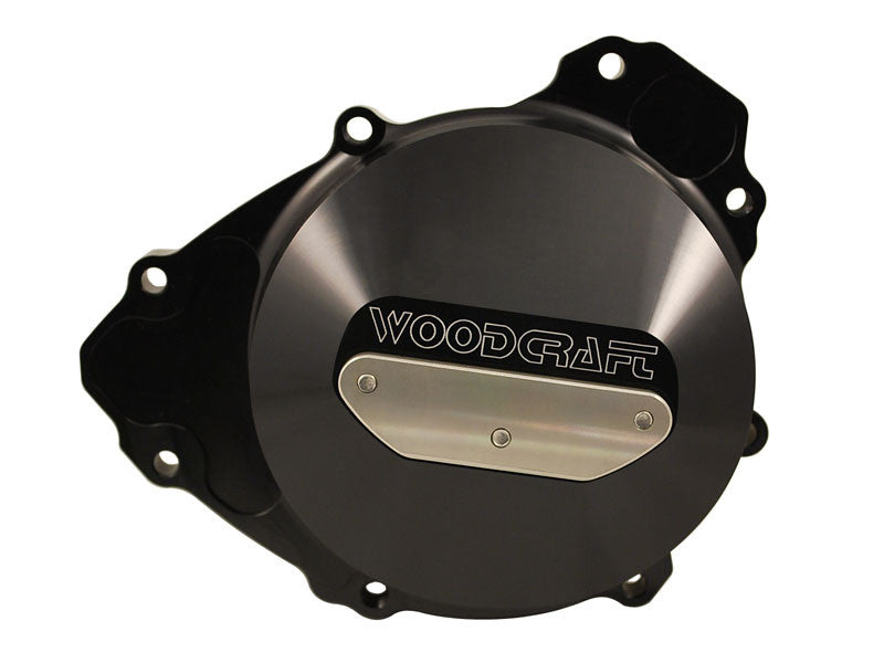 Woodcraft R1 2009+ LHS Stator Cover Assembly Black: Yamaha