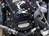 Woodcraft 675 Daytona 2013-2014 LHS Stator Cover Black Anodized: Triumph - Tacticalmindz.com