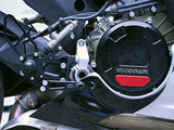 Woodcraft 1199 Panigale RHS Clutch Cover Black Anodized: Ducati - Tacticalmindz.com