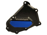 Woodcraft S1000RR 2010+ RHS Crankshaft Cover Assembly Black: BMW