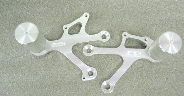 Sick Innovations 05-08 ZX6R/636 Rearsets