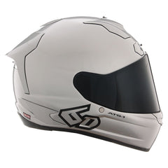 6D Helmets ATS-1R Solid Gloss Silver