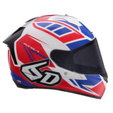 6D Helmets ATS-1R Rogue Red White Blue