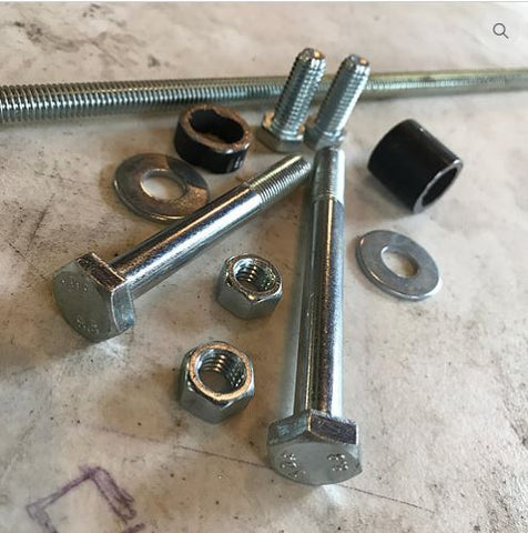 Cock's Crash Cage Replacement Hardware Kit