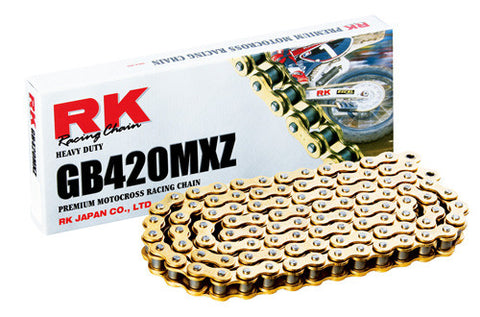 RK Racing Heavy-Duty GB420MXZ Pitch Motorcycle Chain