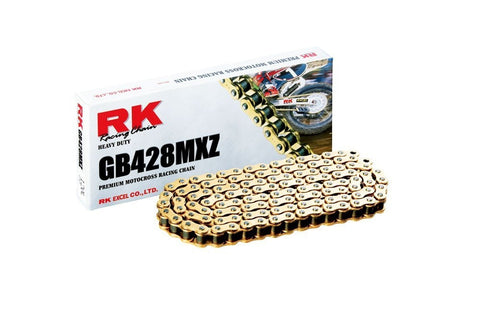 RK Racing GB428MXZ Pitch Motorcycle Chain