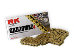 RK Racing GB520MXZ4 Pitch Motorcycle Chain - Tacticalmindz.com
