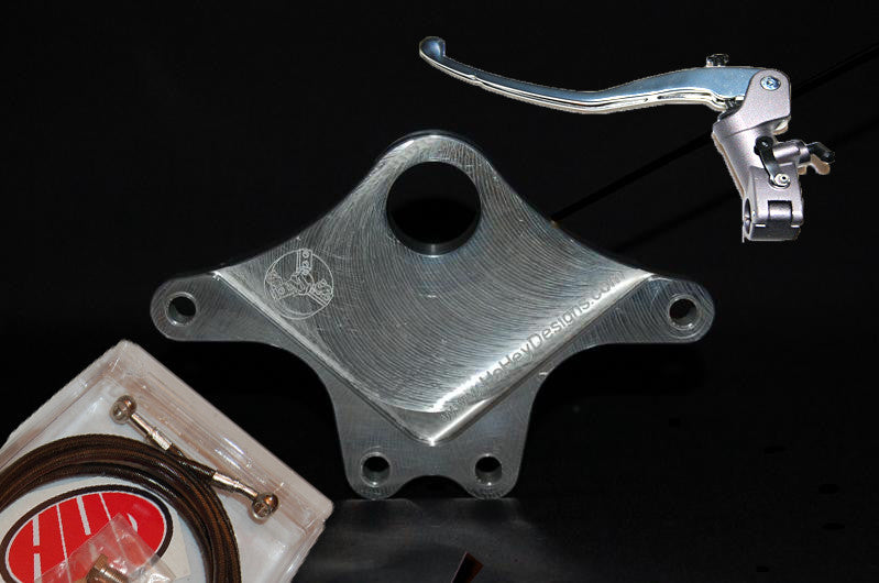 HoHey Designs Dual Caliper Bracket Full Package GSXR 2000-2003 - Tacticalmindz.com