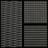 HT MOTO 2-Tone Diamond/Groove Sheet