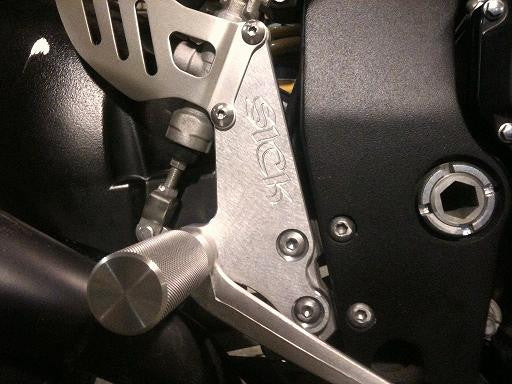 Sick Innovations 06-09 Suzuki GSXR 600/750 Rearsets - Tacticalmindz.com
