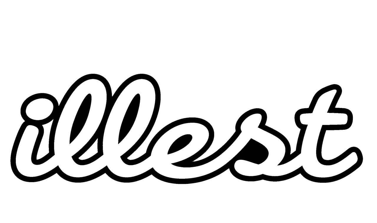 Illest Outline Decal / Sticker