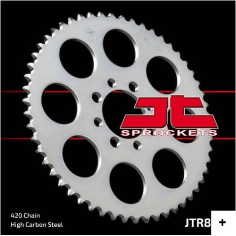 JT Sprocket - JTR801 Rear Steel Sprockets - KLX110 KLX110L DRZ110