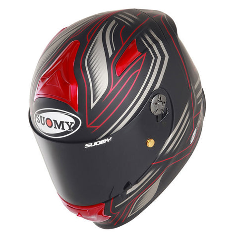 Suomy SR Sport Racing Matte Red Full Face Helmet
