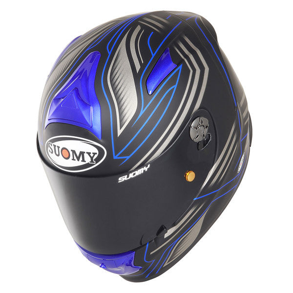 Suomy SR Sport Racing Matte Blue Full Face Helmet