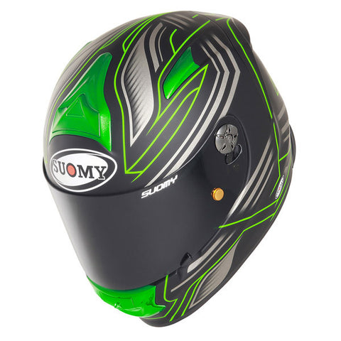 Suomy SR Sport Racing Matte Green Full Face Helmet