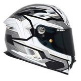 Suomy SR Sport Diamond Grey Full Face Helmet - Tacticalmindz.com
