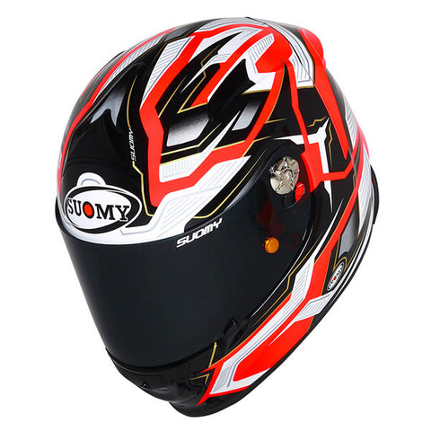 Suomy SR Sport Diamond Orange Full Face Helmet