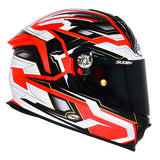 Suomy SR Sport Diamond Orange Full Face Helmet - Tacticalmindz.com