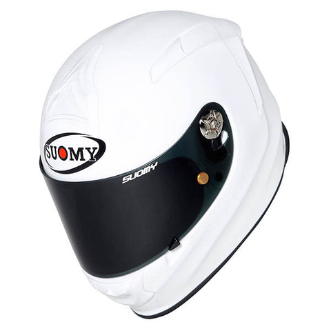 Suomy SR Sport Plain White Full Face Helmet