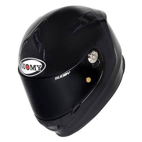 Suomy SR Sport Plain Black Full Face Helmet