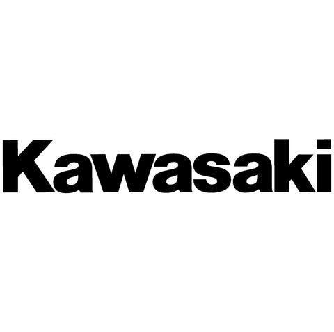 Kawasaki Font Decal / Sticker
