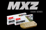 RK Racing GB428MXZ Pitch Motorcycle Chain - Tacticalmindz.com