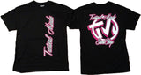 Tactical Mindz Sidways T-Shirt: Pink - Tacticalmindz.com