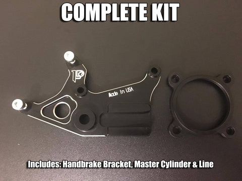 Perfect Stranger Kawasaki Z125 Handbrake Complete Kit