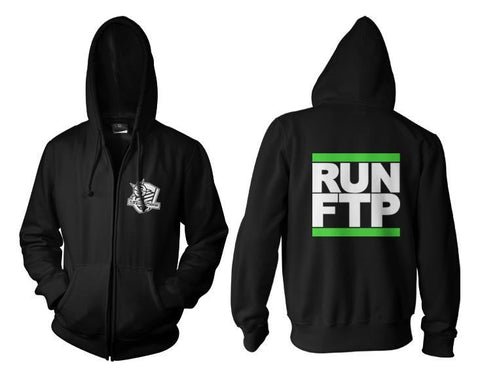 Streetfighterz Run FTP Zip Up Hoodie
