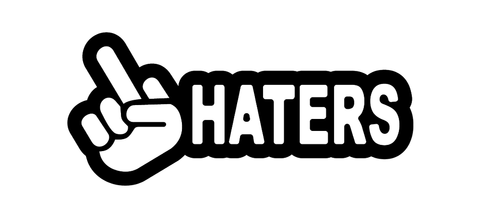 F-Haters Decal / Sticker