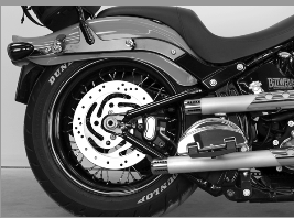 Legend Suspension AIR-ST Softail 00-17