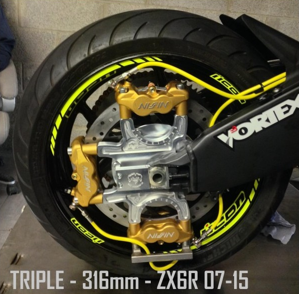 Jokeriders Triple Caliper Full Handbrake Kit