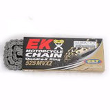 EK 525 MVXZ Chrome X-Ring Chain