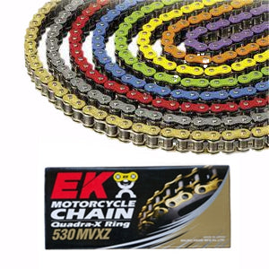 EK 530 MVXZ Colored X-Ring Chain