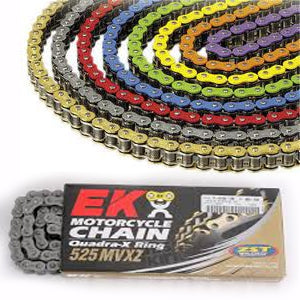 EK 525 MVXZ Colored X-Ring Chain