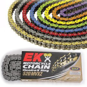 EK 520 MVXZ Colored X-Ring Chain