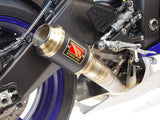 1FNGR GP Race Slip On Exhaust - 2017+ Yamaha R6