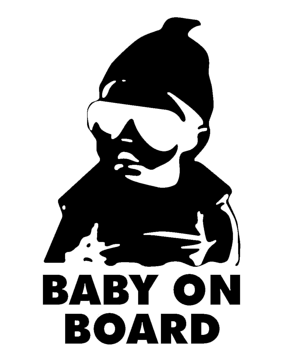 Baby On Board Sticker - Tacticalmindz.com