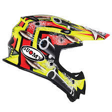 Suomy MX Jump Bullet Yellow Helmet