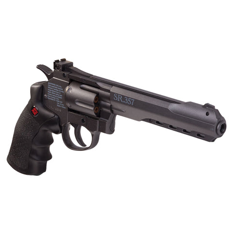 Crosman SR 357 Revolver 6RD Black Metal